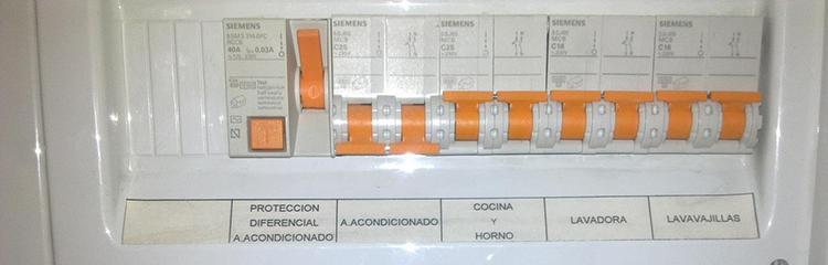2º consejo para aumentar la seguridad eléctrica en tu hogar: Los cuadros eléctricos con salvachispas.