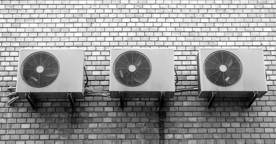 Limpieza de aire acondicionado.
